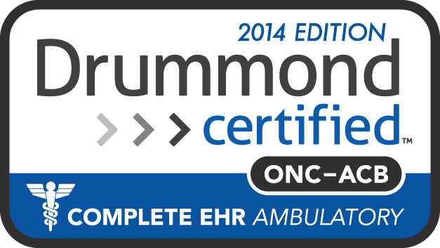 Drummond Certified Complete EHR Ambulatory Technology